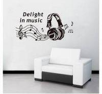 Samolepky na zeď - Delight In Music - Nalepovací tabule