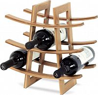 Stojan na víno, bambusový DR-040 Art