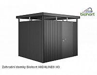 Zahradní domek HIGHLINE H3 s jednokřídlými dvěřmi