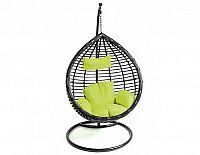 Závěsné relaxační křeslo MONA, zelený sedák