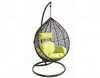 Závěsné relaxační křeslo TARA, zelený sedák