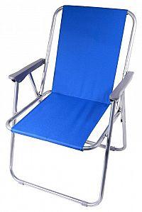 Cattara BERN Židle kempingová skládací modrá