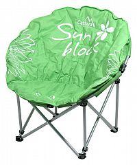 Cattara FLOWERS Židle kempingová skládací zelená