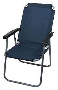 Cattara LYON Židle kempingová skládací tmavě modrá