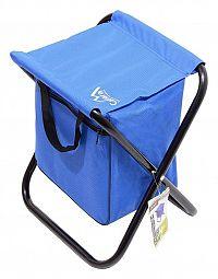 Cattara MALAGA Židle kempingová skládací modrá