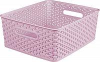 CURVER Košíček box - M - růžový R41153
