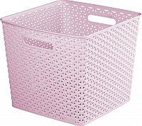 CURVER Úložný box MY STYLE SQR box - růžový R41073