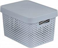 CURVER Úložný box s víkem plastový 17L - bílý R41169