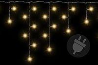 D38536 Vánoční světelný déšť 600 LED teple bílá - 11,9 m