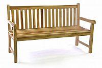 Divero 35520 Zahradní lavice masiv 3-místná 150 cm