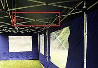 Garthen 2206 Náhradní díl k party stanům s nůžkovou konstrukcím PROFI