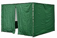 Garthen 30694 Sada 2 bočních stěn pro PROFI zahradní stan 3 x3 m zelená