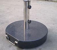 Garthen 437 Stojan na slunečník (kruhový) - mramorový, 40 kg
