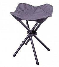 Garthen 64012 Kempovací skládací stolička - černá
