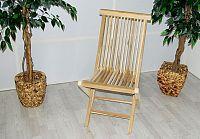 Garthen Skládací židle Gardenay z týkového dřeva D00363