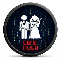 Handlosfera Svatební hodiny Game Over