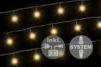 Nexos 2173 diLED světelný řetěz - 40 LED teple bílá + napájení