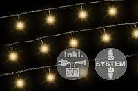 Nexos 2175 diLED světelný řetěz - 100 LED teple bílá + napájení