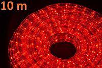 Nexos 534 Světelný kabel 10 m - červená, 360 minižárovek