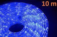 Nexos 874 LED světelný kabel 10 m - modrá, 240 diod