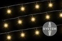 Nexos Trading GmbH & Co. KG 2172 diLED světelný řetěz - 40 LED teple bílá