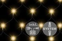 Nexos Trading GmbH & Co. KG 2181 diLED světelná síť - 100 LED teple bílá + napájení