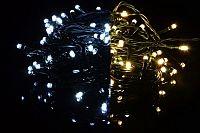Nexos Trading GmbH & Co. KG 39235 Vánoční světelný řetěz 40 LED - 9 blikajících funkcí - 3,9 m