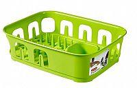 Odkapávač nádobí ESSENTIALS čtverec - zelený CURVER OEM R31852