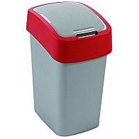 Odpadkový koš FLIPBIN 10l - červený CURVER