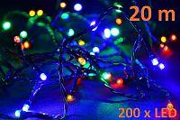 OEM Barevný vánoční řetěz 200 LED D05955