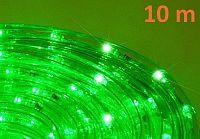 OEM D00586 LED světelný kabel 10 m - zelená, 240 diod