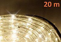 OEM D01036 LED světelný kabel 20 m - teple bílá, 480 diod