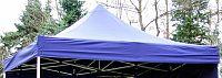 PROFI Náhradní střecha na zahradní skládací stan 3 x 3 m modrá KK-733