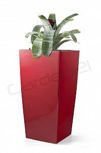 Samozavlažovací květináč G21 Linea červený 76cm