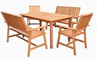 Tradgard 35316 Dřevěný stůl MALAY