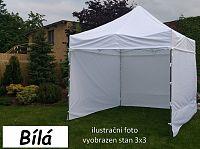 Tradgard PROFI STEEL 56581 Zahradní párty stan 3 x 4,5 - bílá