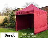 Tradgard PROFI STEEL 56946 Zahradní párty stan 3 x 4,5 - bordó