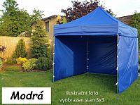 Tradgard PROFI STEEL 57107 Zahradní párty stan 3 x 6 - modrá