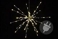 Vánoční světelná hvězda k zavěšení venkovní / vnitřní, 80 LED diod