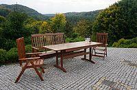 WOOD Zahradní dřevěná lavice ANETA