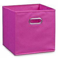 Box úložný flísový růžový E352