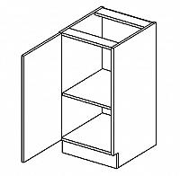 D40 dolní skříňka jednodvéřová DARK BIS levá