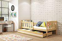 Dětská postel v dekoru borovice 80x160 cm F1176