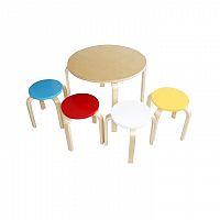Dětský set 1 + 4, březové dřevo, mix barev, SIGRID