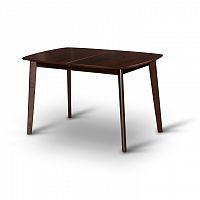 Jídelní rozkládací stůl v moderním dřevěném provedení ořech CHAN