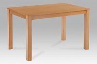 Jídelní stůl dřevěný 120 x 75 cm dekor buk BT-6957 BUK3