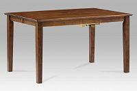 Jídelní stůl  rozkl. 136+45x91x75cm, barva ořech AUB-200 WAL