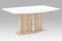 Jídelní stůl s masivní nohou v provedení 3D dekoru  AT-2013 WT