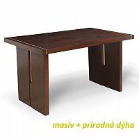 Jídelní stůl v luxusním dřevěném provedení ořech CIDRO