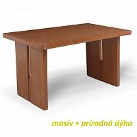 Jídelní stůl v luxusním dřevěném provedení třešeň CIDRO